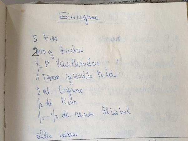 Eiercognac Rezept
